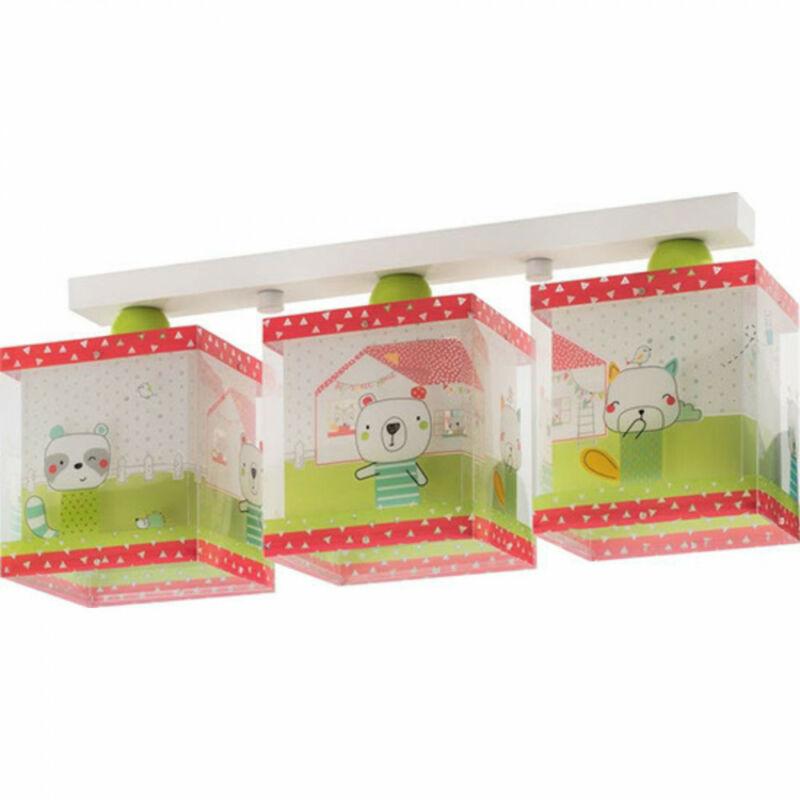 Dalber My Sweet Home 11673 mennyezeti gyereklámpa fehér műanyag 3 x E27 max. 60W E27 3 db