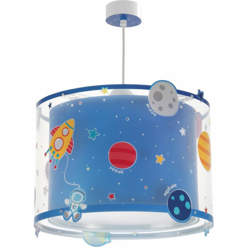 Dalber Planets 41342 gyerek függeszték kék műanyag 1xE27 max. 60W E27 1 db