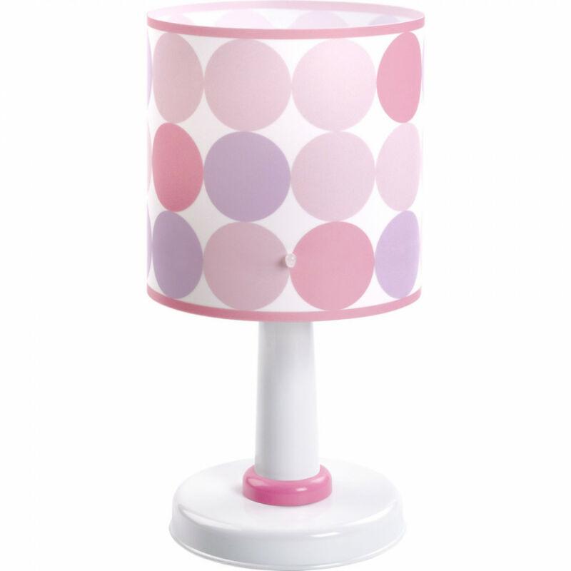 Dalber Colors 62001S gyereklámpa rózsaszín műanyag 1xE14 max. 40W E14 1 db