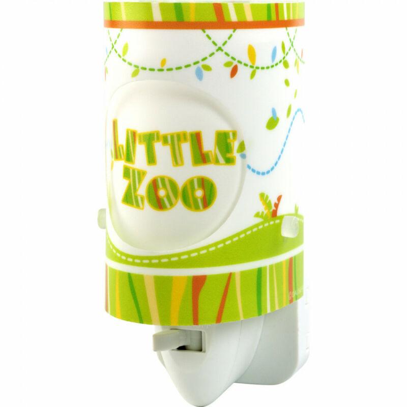 Dalber LITTLE ZOO 63115 gyereklámpa zöld műanyag E14 1 db 15 lm 3000 K