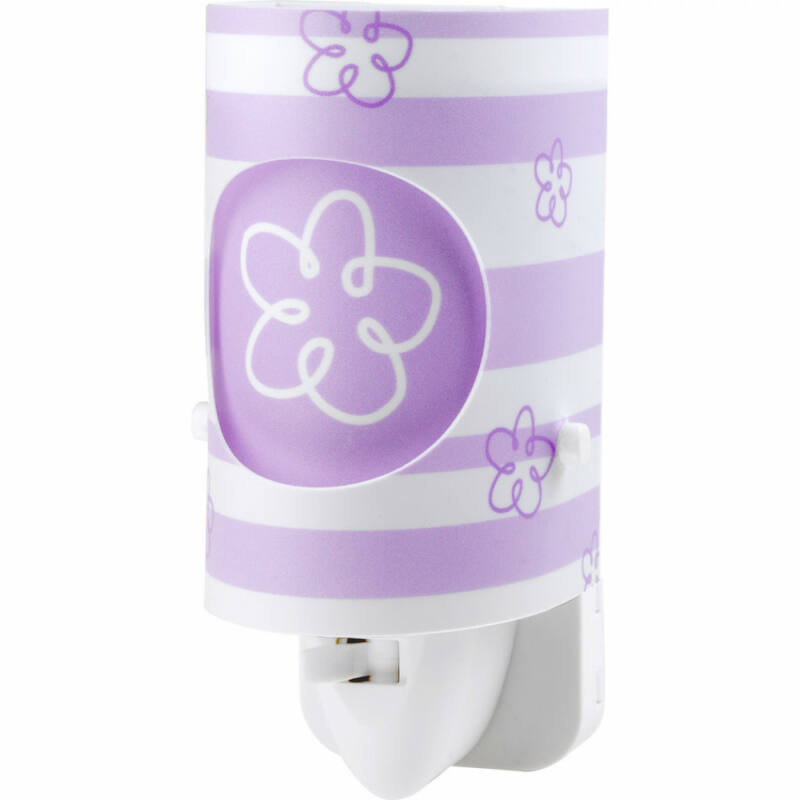 Dalber SWEET LIGHT 63191L gyereklámpa lila műanyag E14 1 db 15 lm 3000 K