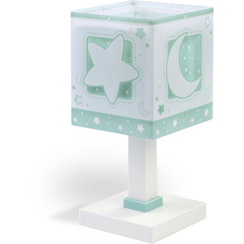 Dalber Moonlight 63231H asztali gyerek lámpa műanyag E14 1 db