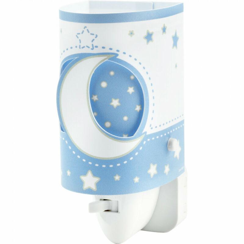 Dalber LED Moonlight 63235LT gyereklámpa kék műanyag E14 1 db 15 lm 2900-3200 K