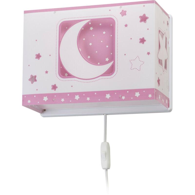 Dalber Moonlight 63238S fali gyereklámpa műanyag E27 1 db