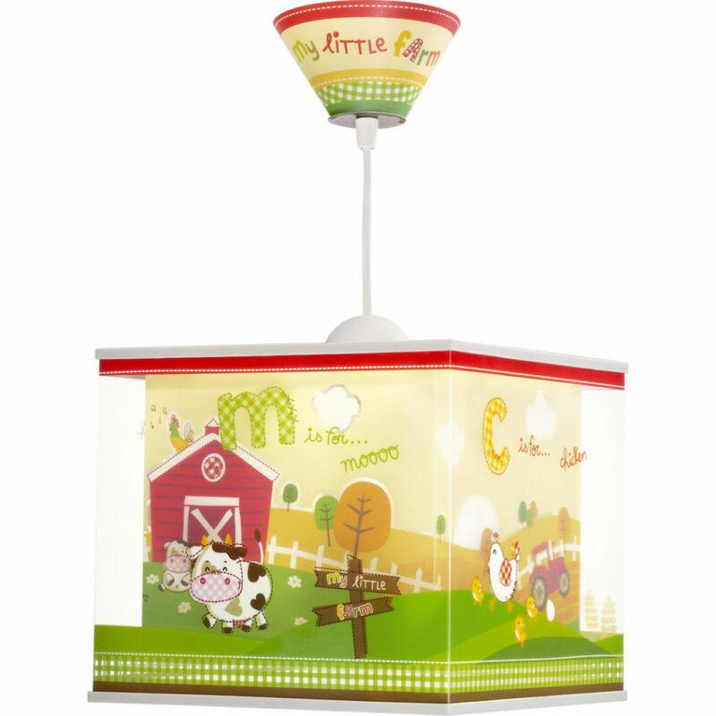 Dalber MY LITTLE FARM 64402 gyereklámpa többszínű műanyag 1xE27 max. 60W E27 1 db