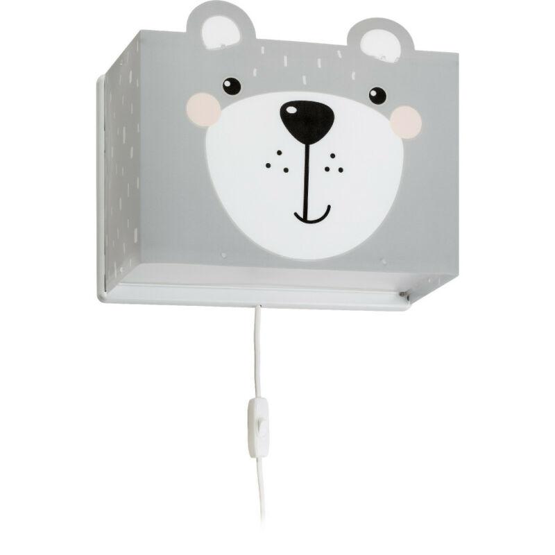 Dalber Little Teddy 64578 fali gyereklámpa műanyag E27 1 db