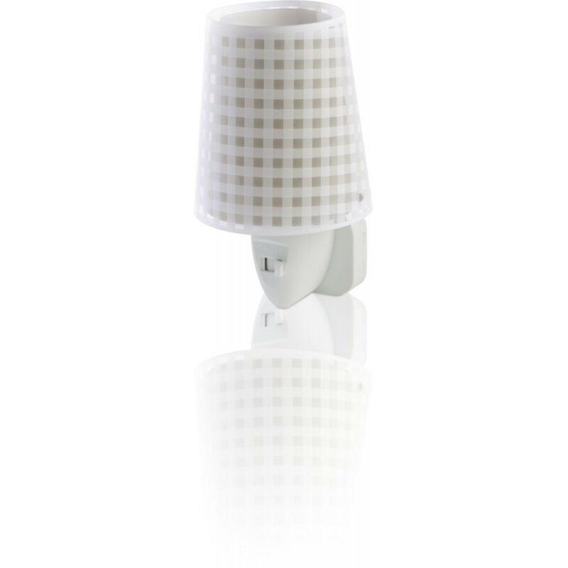 Dalber LED Vichy 80225B éjjeli fény gyerekeknek műanyag E14 1 db 15 lm 2900-3200 K