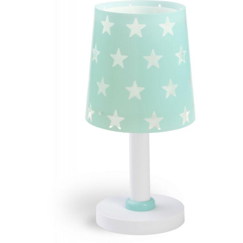 Dalber Stars 81211H asztali gyerek lámpa kék műanyag 1 x E14 max. 40W E14 1 db