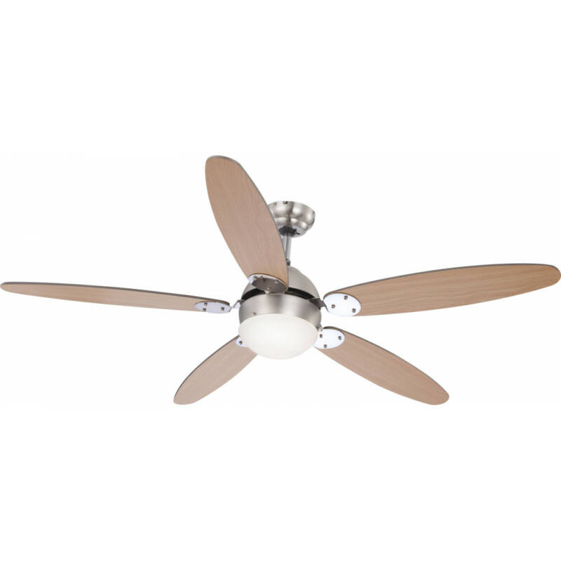 Globo AZURA 0308 mennyezeti ventilátor  króm   1 * E14 max. 60 W