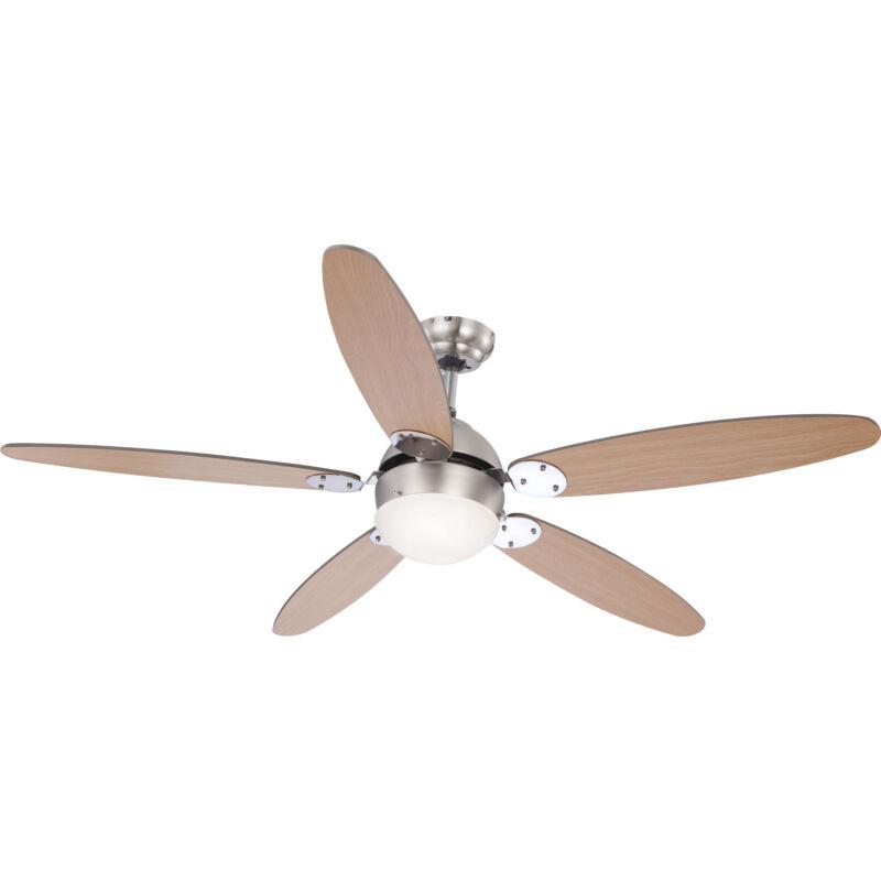 Globo AZURA 0308 mennyezeti ventilátor  króm   1 * E14 max. 60 W   E14   1 db