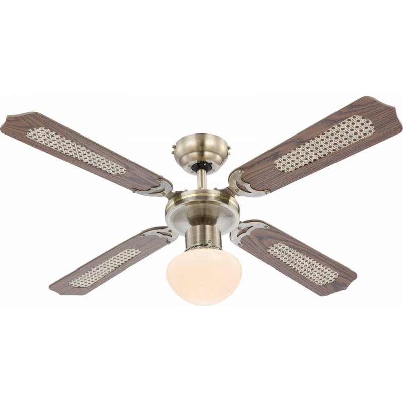 Globo CHAMPION 0309 mennyezeti ventilátor antik bronz 1 * E27 max. 60 W E27 1 db