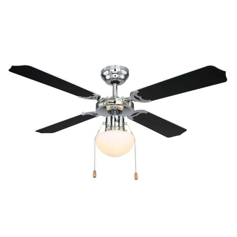 Globo CHAMPION 0309CSW mennyezeti ventilátor króm 1 * E27 max. 60 W E27 1 db