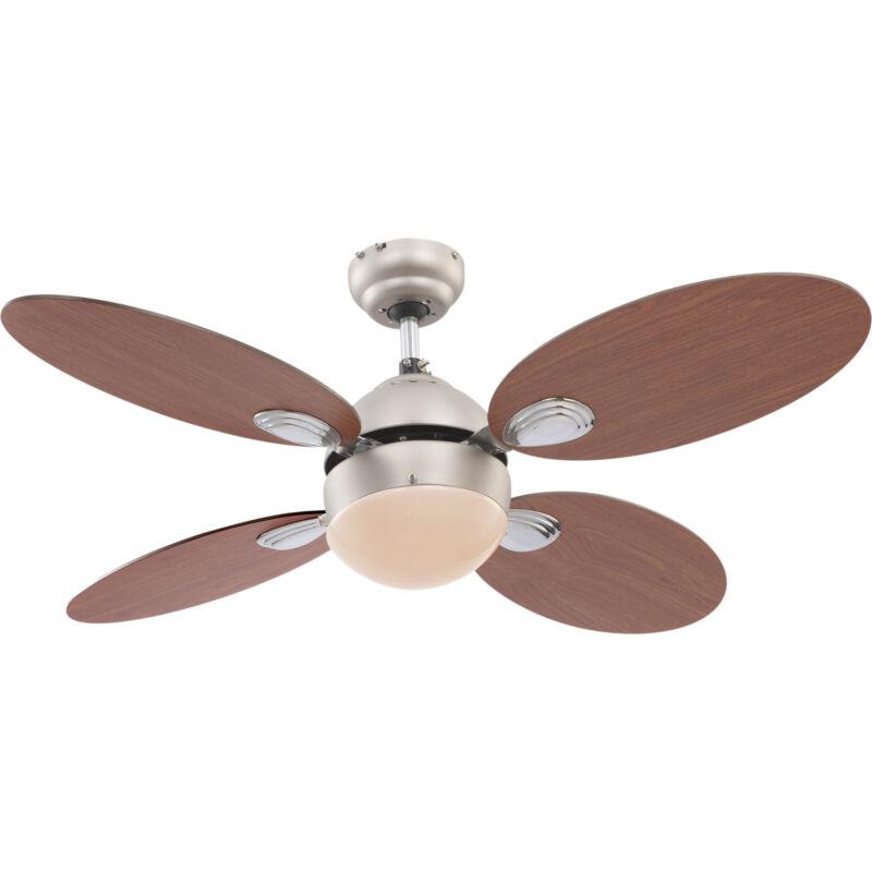 Globo WADE 0318 mennyezeti ventilátor króm 1 * E14 max. 60 W E14 1 db