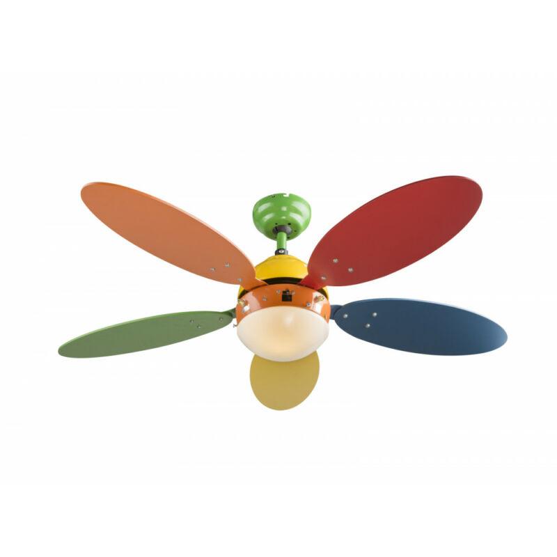 Globo WADE I 03180 mennyezeti ventilátor színes fém 1 * E14 max. 60 W E14 1 db
