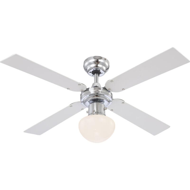 Globo CHAMPION 0330 mennyezeti ventilátor króm 1 * E27 max. 60 W E27 1 db