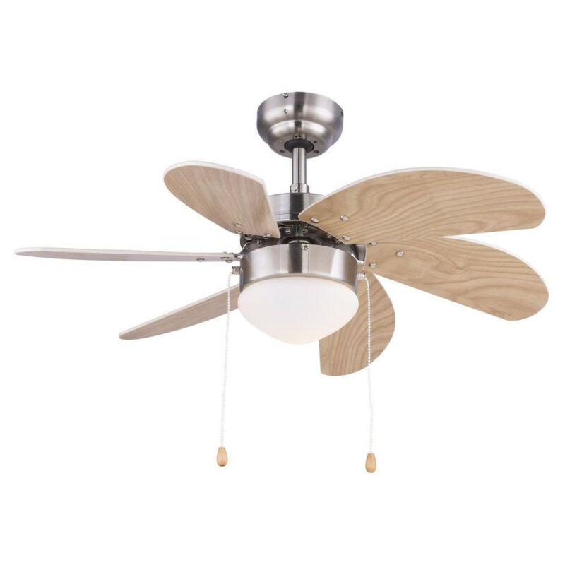 Globo RIVALDO 03301 mennyezeti ventilátor matt nikkel 1 * E14 max. 60 W E14 1 db