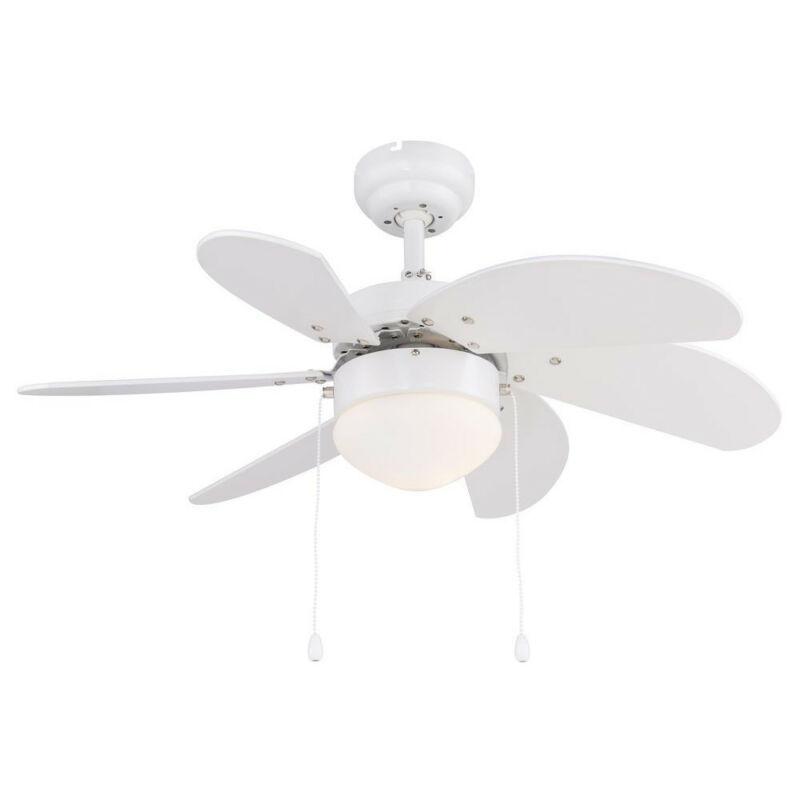 Globo RIVALDO 03302 mennyezeti ventilátor fehér fém 1 * E14 max. 60 W E14 1 db