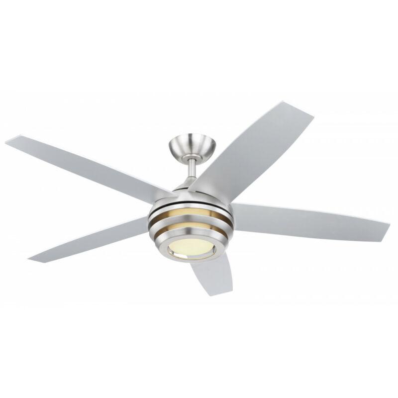 Globo VIVIANA 03641 mennyezeti ventilátor matt nikkel LED 1 db 1800 lm 3000-4000-6000 K A+