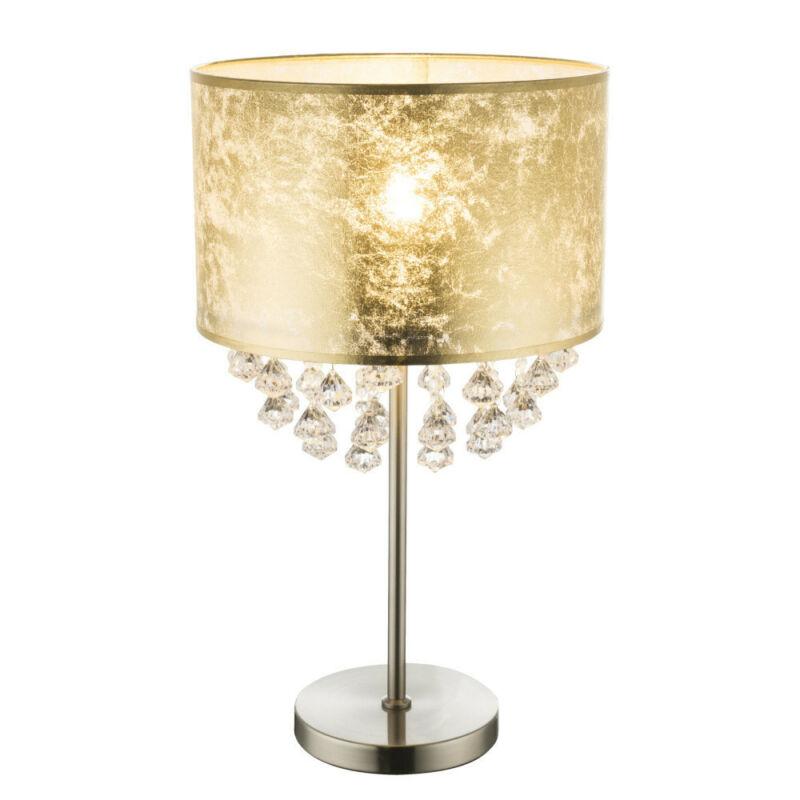 Globo AMY 15187T3 éjjeli asztali lámpa nikkel fém 1 * E27 max. 60 W E27 1 db