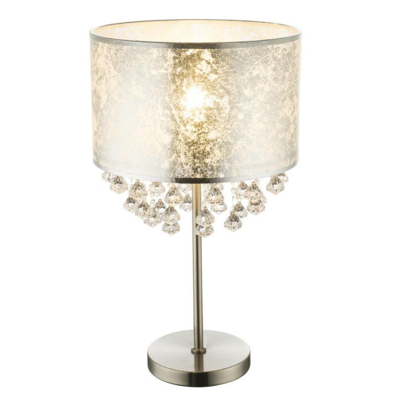 Globo AMY I 15188T3 éjjeli asztali lámpa nikkel fém 1 * E27 max. 60 W E27 1 db