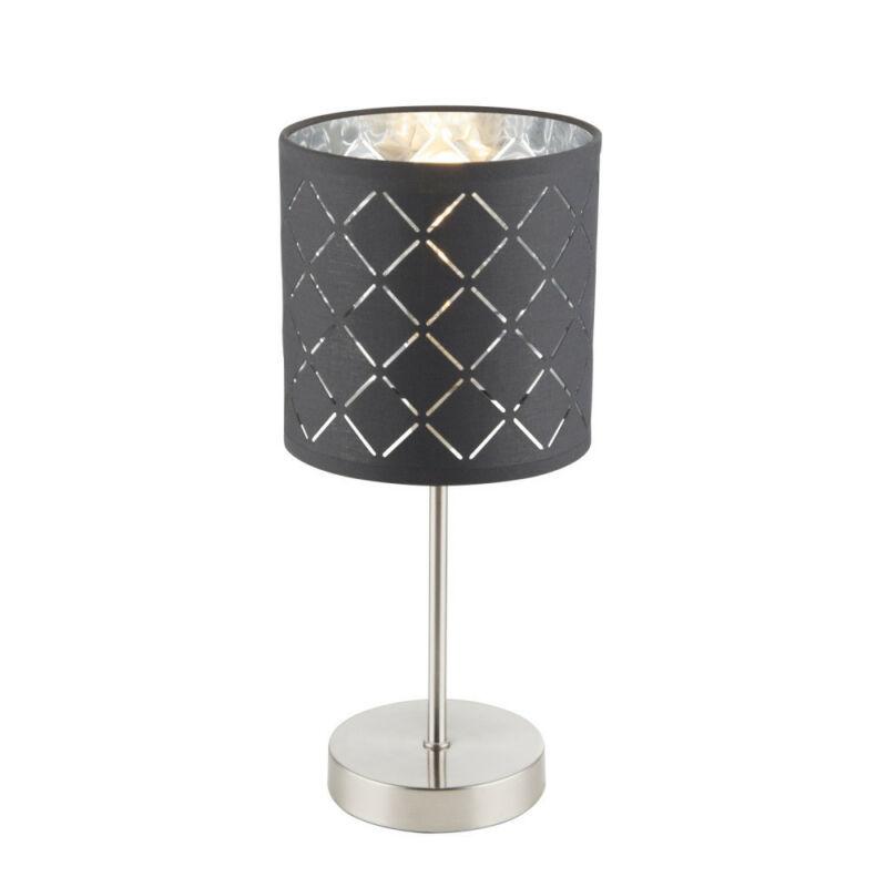 Globo KIDAL 15228T éjjeli asztali lámpa matt nikkel 1 * E14 max. 40 W E14 1 db