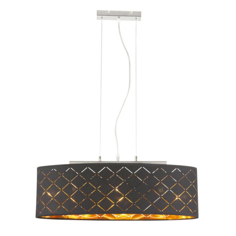 Globo CLARKE 15229H2 étkező lámpa matt nikkel 3 * E27 max. 60 W E27 3 db