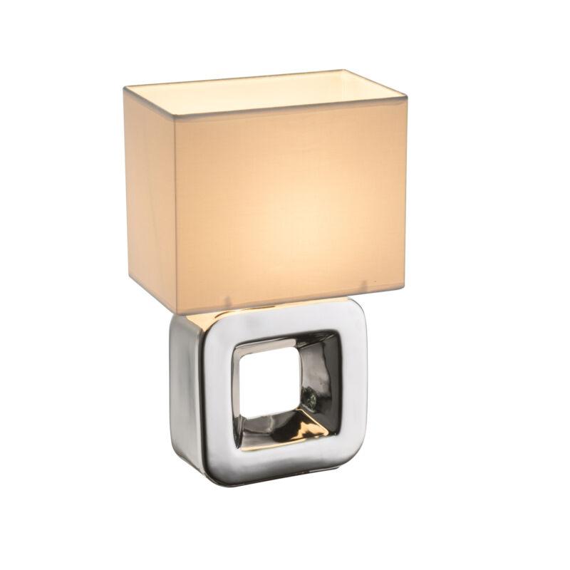 Globo KILAUEA 21602 éjjeli asztali lámpa króm kerámia 1 * E14 max. 40 W E14 1 db
