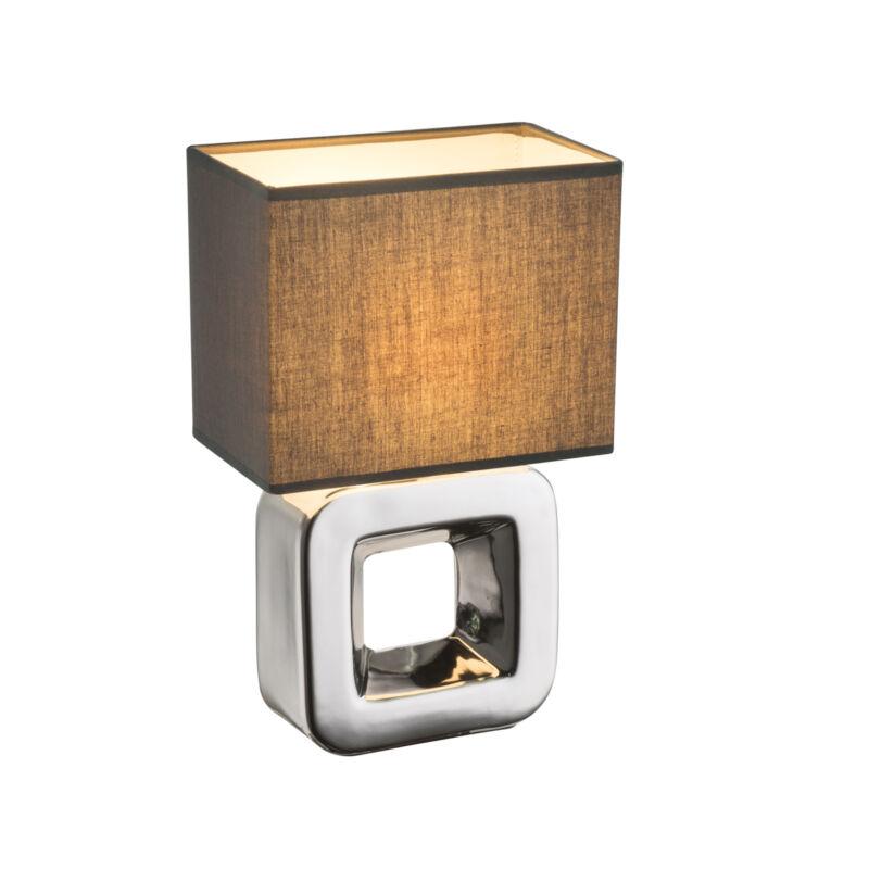 Globo KILAUEA 21603 éjjeli asztali lámpa króm kerámia 1 * E14 max. 40 W E14 1 db