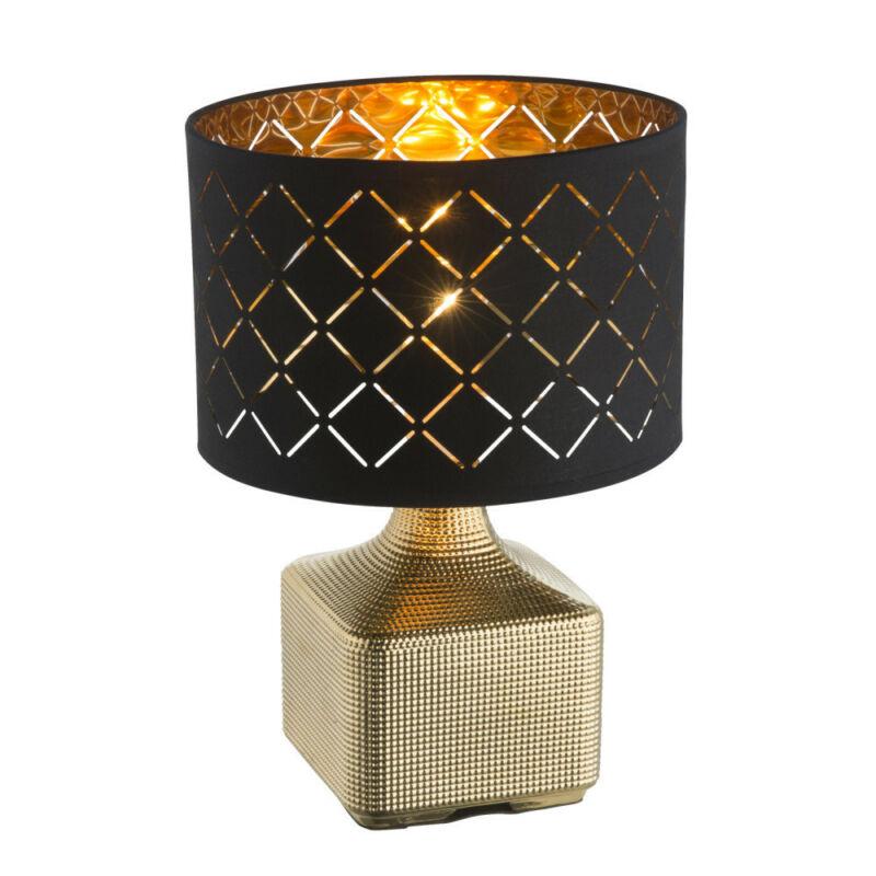 Globo MIRAUEA 21612 asztali lámpa arany kerámia 1 * E27 max. 60 W E27 1 db