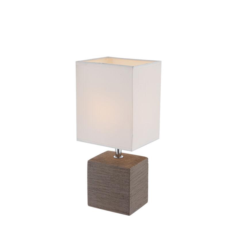 Globo GERI 21677 éjjeli asztali lámpa kerámia 1 * E14 max. 40 W E14 1 db IP20