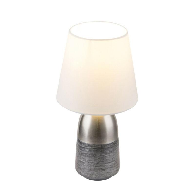 Globo EUGEN 24135W éjjeli asztali lámpa nikkel 1 * E14 max. 40 W E14 1 db