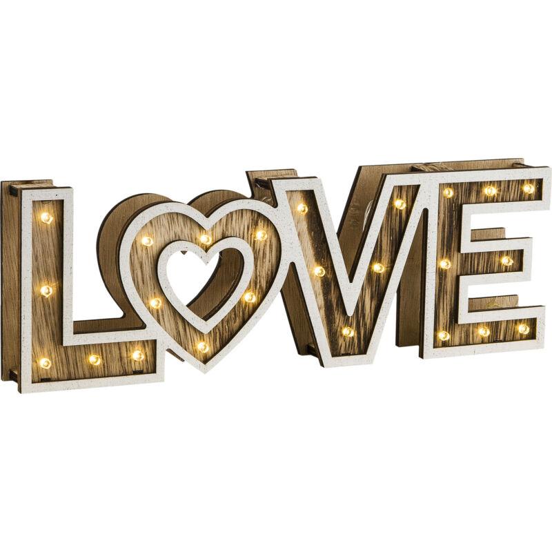 Globo LOVE 29976 hangulatfény műanyag műanyag 24 * LED max. 0.06 W LED 24 db