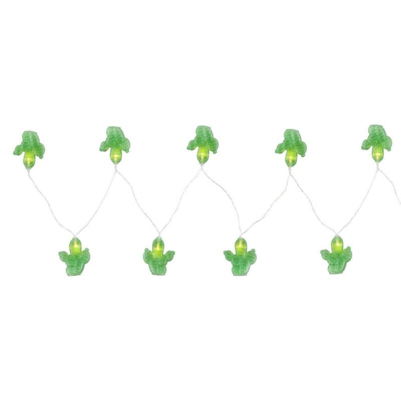 Globo BIRTHDAY 29983 karácsonyi világítás zöld műanyag LED - 10 x 0,06W LED 10 db 2700 K IP20