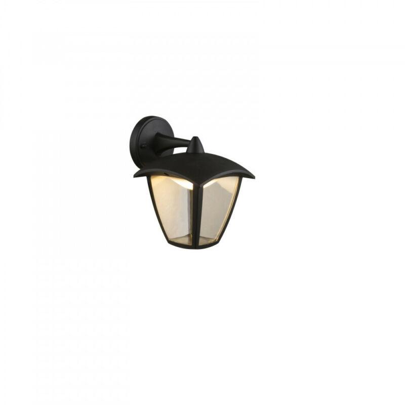 Globo DELIO 31826 kültéri fali led lámpa fekete alumínium 1 * LED max. 7 W LED 1 db 360 lm 3000 K IP44 A