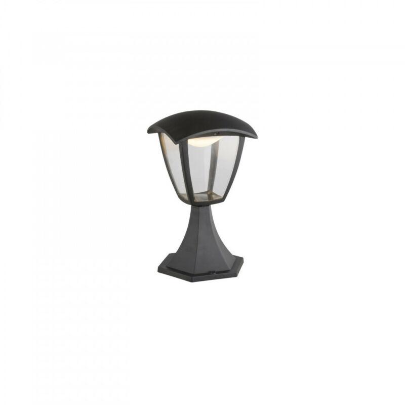 Globo DELIO 31827 kültéri led állólámpa fekete alumínium 1 * LED max. 7 W LED 1 db 360 lm 3000 K IP44 A