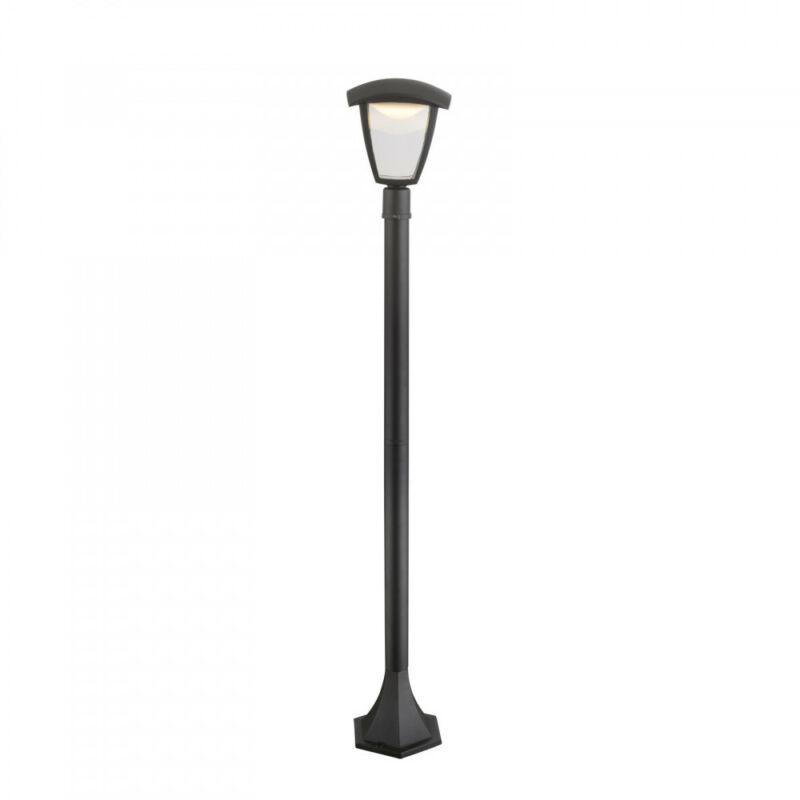 Globo DELIO 31828 kültéri led állólámpa fekete alumínium 1 * LED max. 7 W LED 1 db 360 lm 3000 K IP44 A