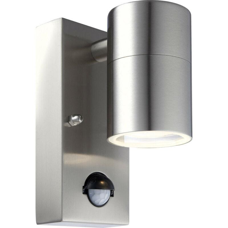 Globo STYLE 3201SL mozgásérzékelős fali lámpa rozsdamentes acél 1 * GU10 LED max. 5 W GU10 LED 1 db 210 lm 3000 K IP44 A+