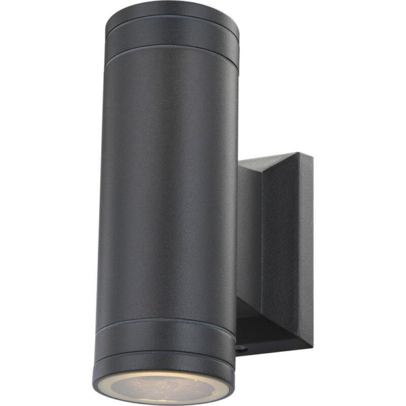 Globo GANTAR 32028-2 kültéri fali led lámpa alumínium 2 * GU10 LED max. 5 W GU10 LED 2 db 300 lm 3000 K IP44 A+