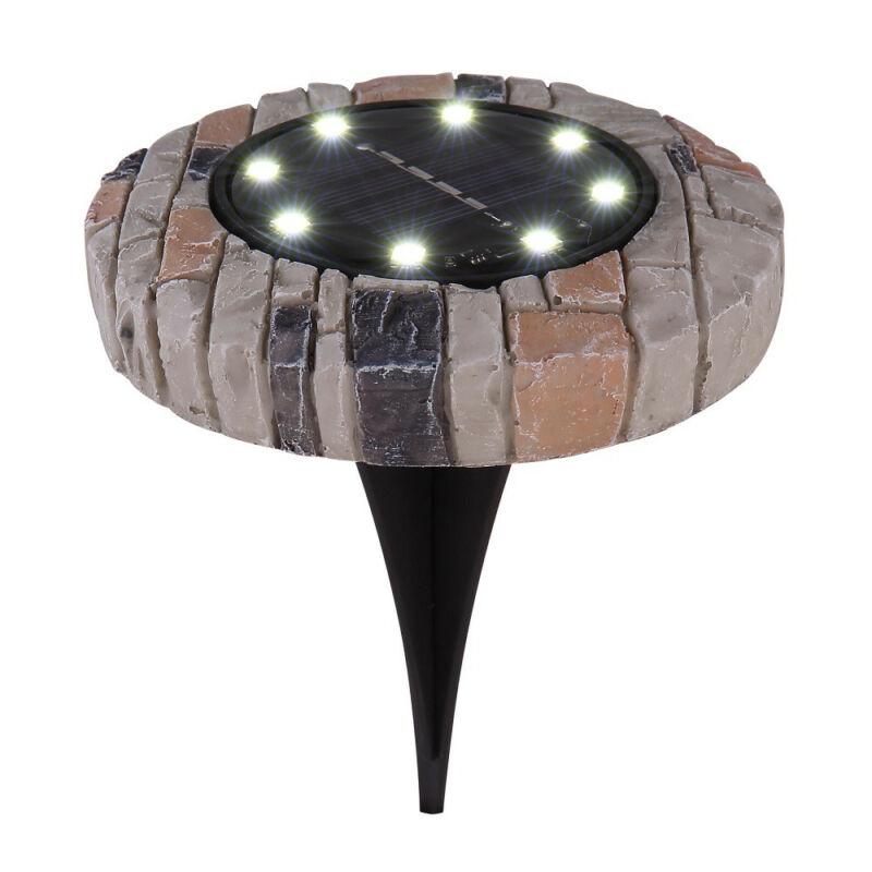 Globo SOLAR 33414S-4 napelemes lámpa kő műanyag LED 6500 K IP44