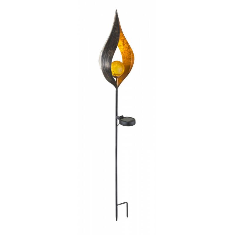 Globo SOLAR 33467 kültéri leszúrható lámpa bronz fém LED - 1 x 0,02W LED IP44