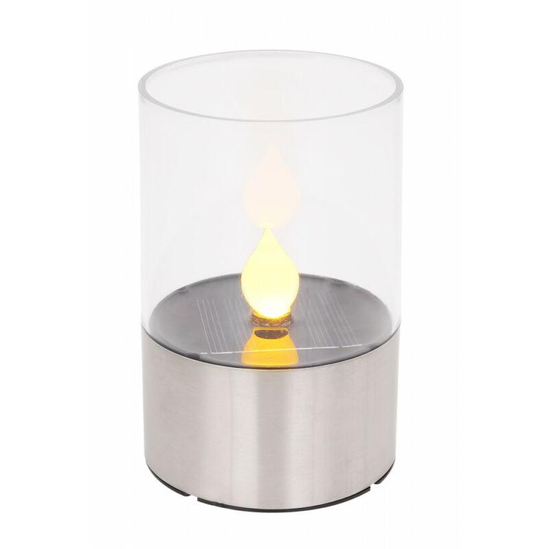Globo SOLAR 33539 napelemes lámpa rozsdamentes acél LED 1800 K IP44