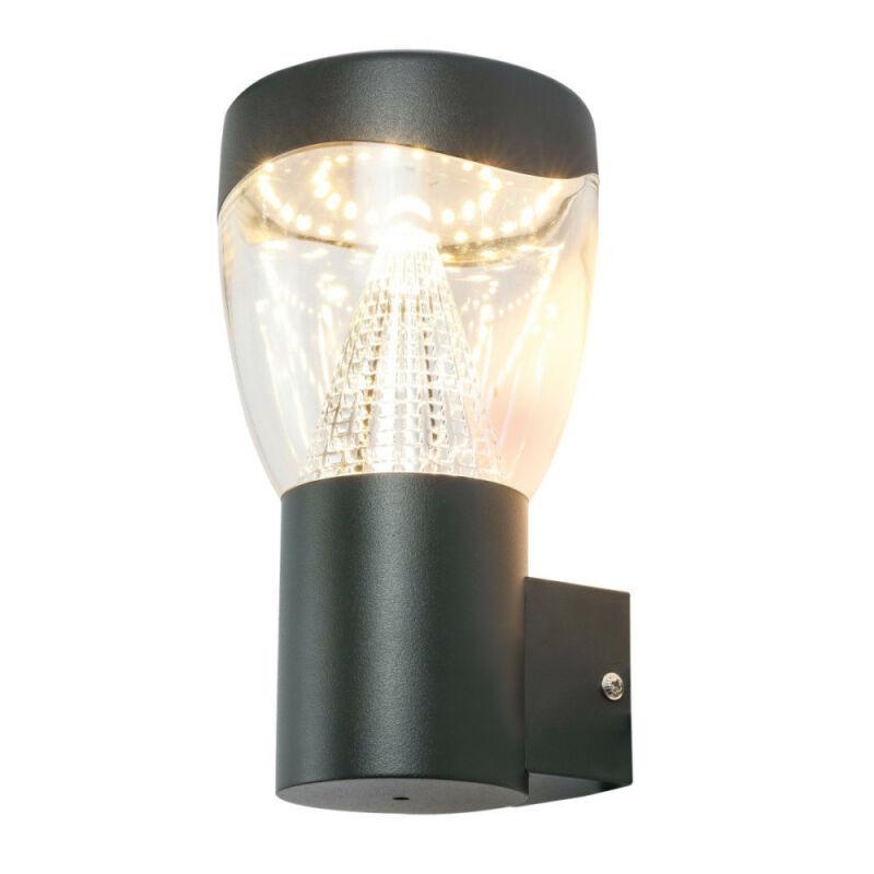 Globo DELTA 34585 kültéri fali led lámpa antracit alumínium LED - 1 x 9,6W LED 1 db 850 lm 3000 K IP44 A+
