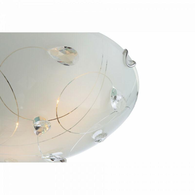 Globo ALIVIA 40414-1 mennyezeti kristálylámpa  1 * E27 max. 60 W