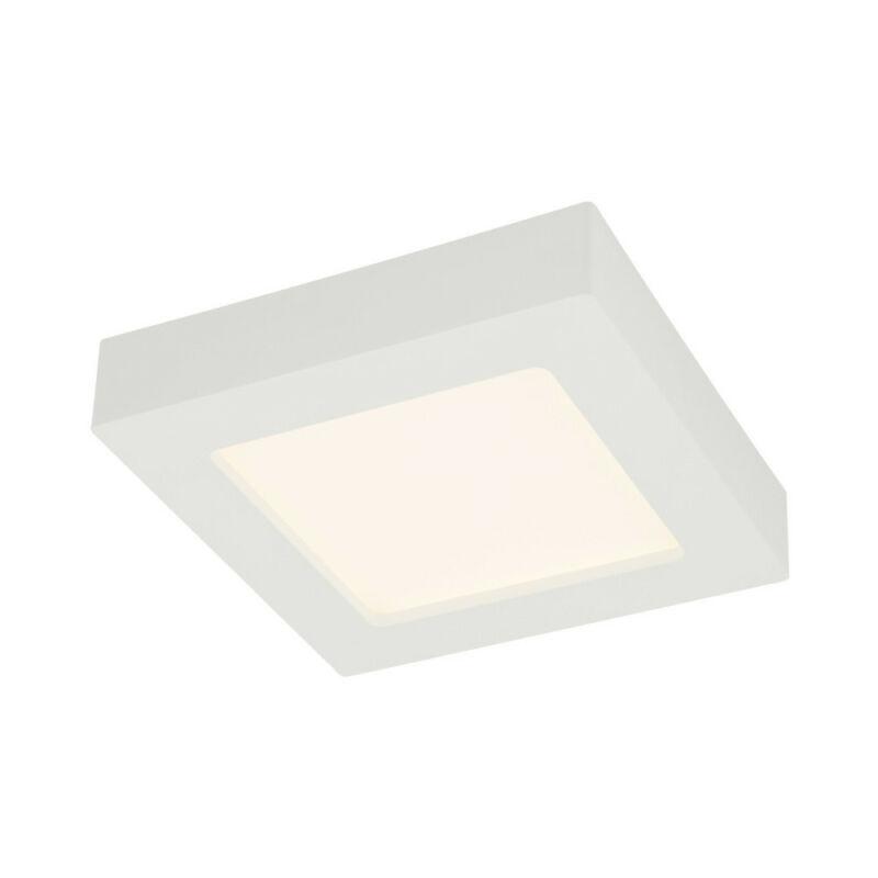 Globo SVENJA 41606-12 fürdőszoba mennyezeti lámpa fehér alumínium 1 * LED max. 12 W LED 1 db 1000 lm 3000 K A+