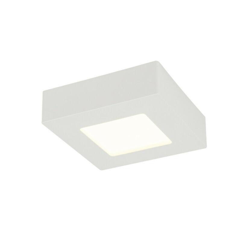 Globo SVENJA 41606-9D fürdőszoba mennyezeti lámpa fehér alumínium 1 * LED max. 9 W LED 1 db 650 lm A+
