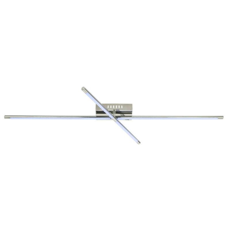 Globo DOMENICO 41910-32 mennyezeti lámpa  nikkel   fém   RGB LED - 1 x 27W   LED   1 db  820 lm  3000 K  IP20   A