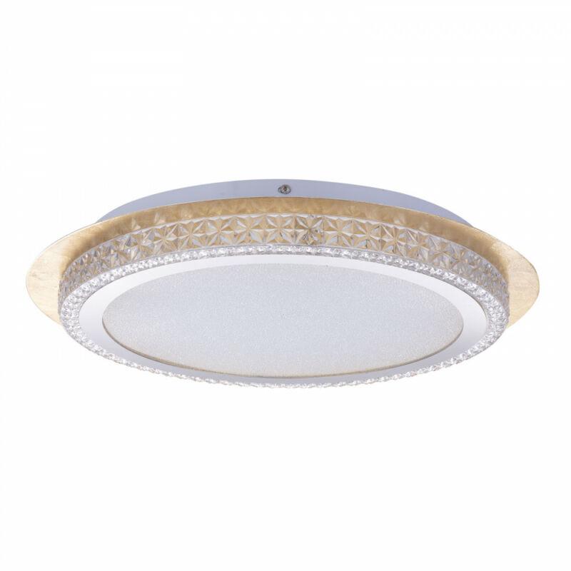 Globo HAKKA 41912-24G mennyezeti kristálylámpa inkl. 1xLED 22W 230V, 2000lm, CCT 3.000-4500-6.000 LED 1 db 2000 lm IP20 A+