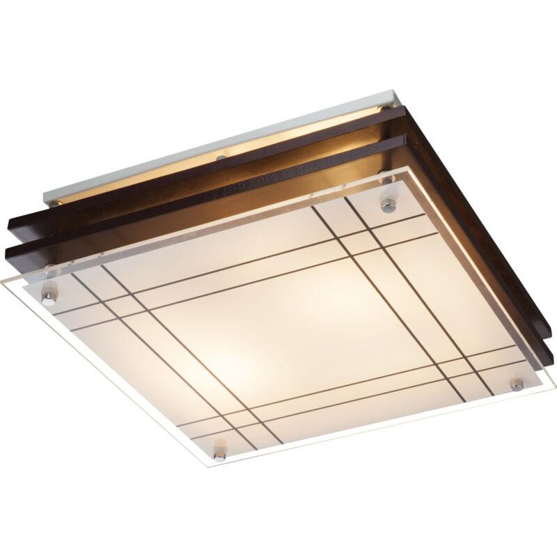 Globo KADAVU 48089-2 mennyezeti lámpa  barna   fa   2 * E27 max. 60 W