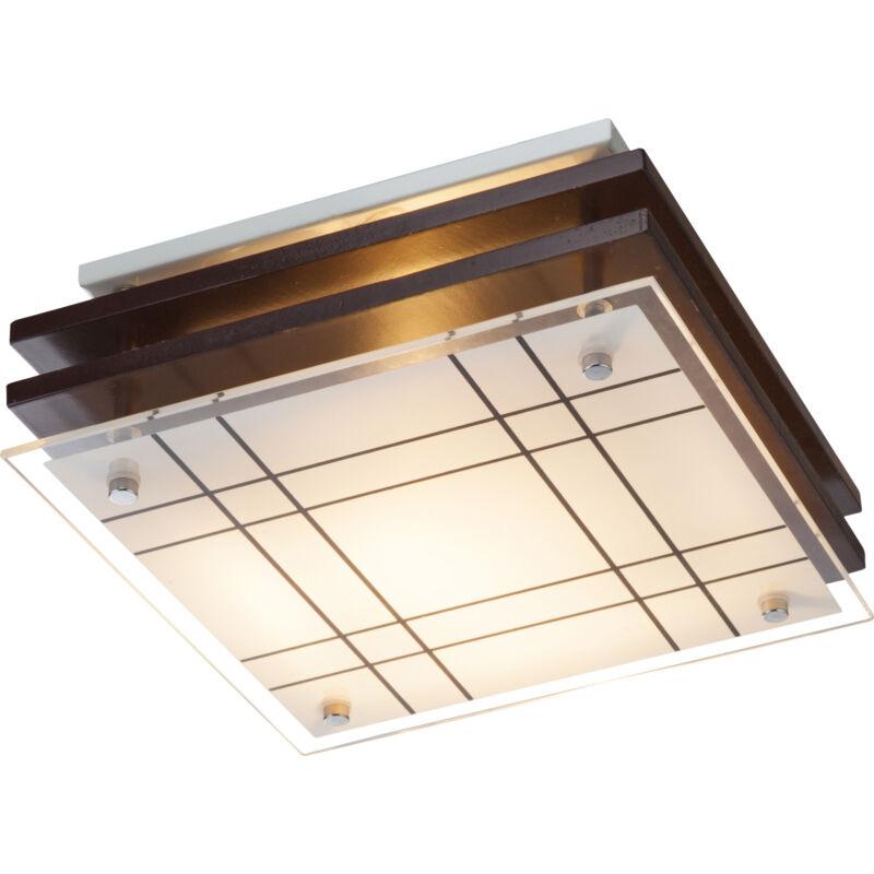 Globo KADAVU 48089 mennyezeti lámpa barna fa 1 * E27 max. 60 W E27 1 db