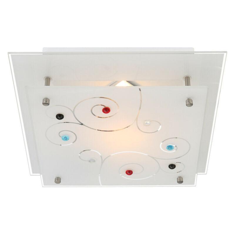 Globo REGIUS 48140-1 mennyezeti lámpa króm 1 * E27 ILLU max. 40 W E27 ILLU 1 db IP20